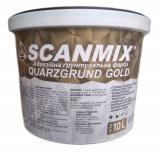 Кварц-грунт Scanmix Quarzgrund Gold (10л)